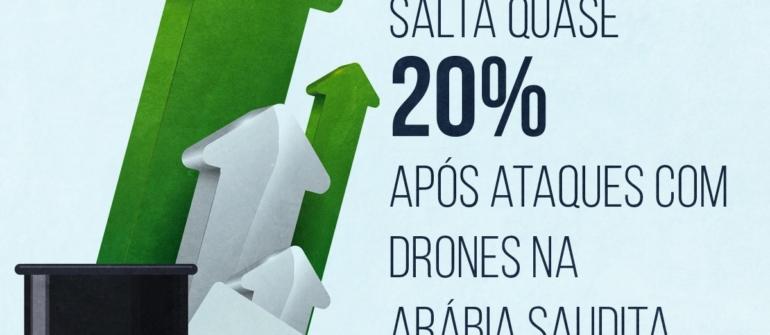 Ataque à Saudi Aramco gera aumento no preço do petróleo internacional