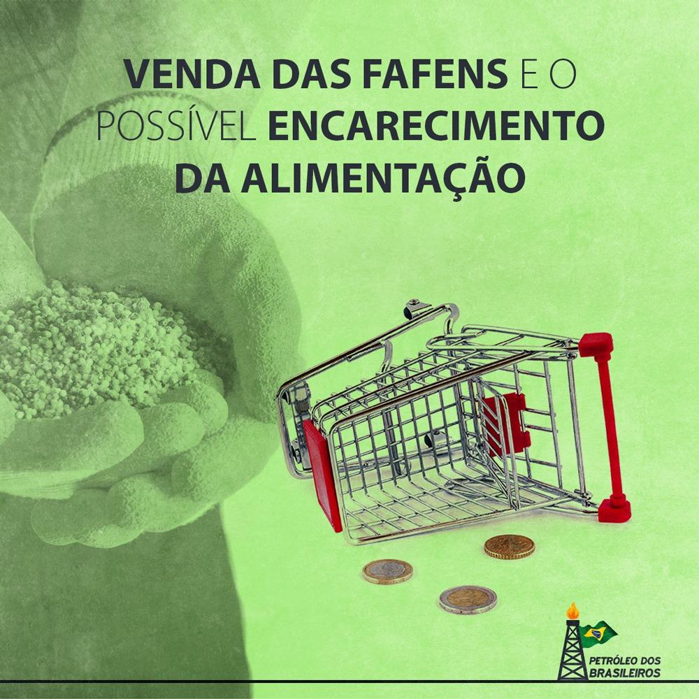 Venda das Fafens é mau negócio, impacta no desenvolvimento do país e irá encarecer o custo dos alimentos